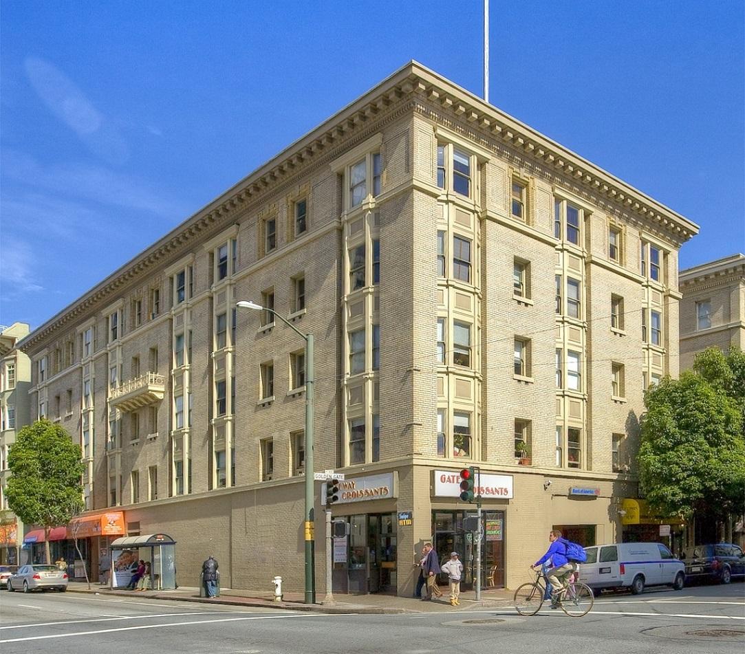 Rental Properties In San Francisco Ca: 378 Golden Gate Ave., San Francisco, CA.