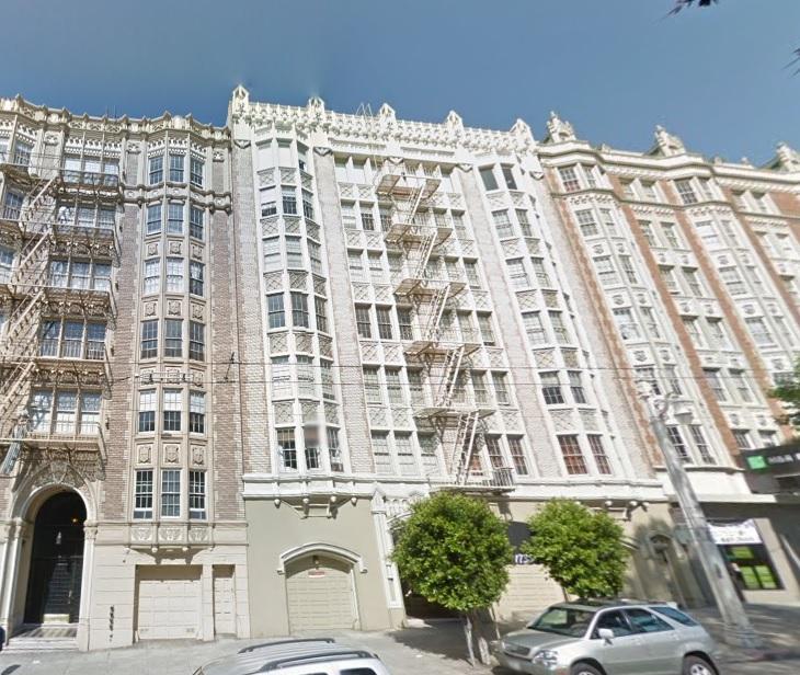 1 Bedroom Apartments San Francisco: 1735 Van Ness Ave, #202, SF, CA, 94109
