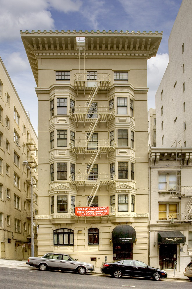642 Jones St., San Francisco, California, United States 94109, 1 Bedroom Bedrooms, ,1 BathroomBathrooms,Apartment,One Bedroom,The Elizabeth,Jones St.,1888