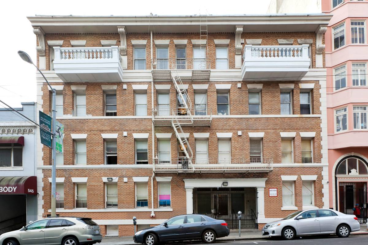 555 Eddy St., San Francisco, California, United States 94109, 1 Bedroom Bedrooms, ,1 BathroomBathrooms,Apartment,One Bedroom,Eddy St.,1896